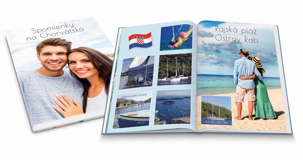 Fotokniha Happy Foto, fotoprodukty, fotokniha zušľachtená lakovaním