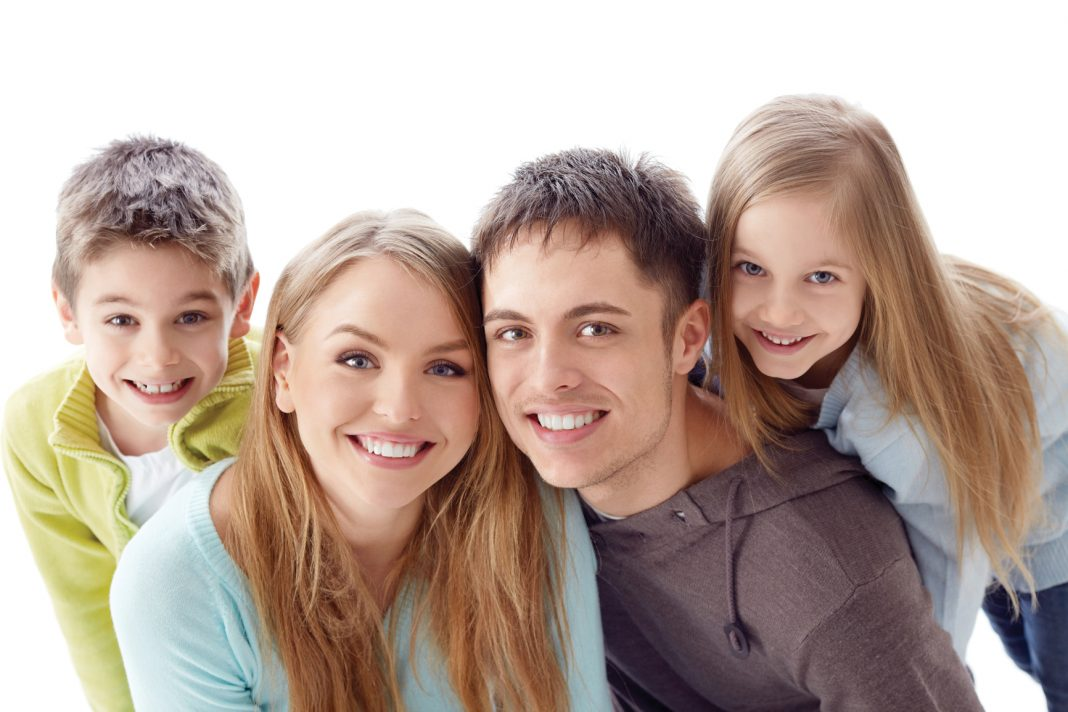 Zdravý chrup, pekná rodinka