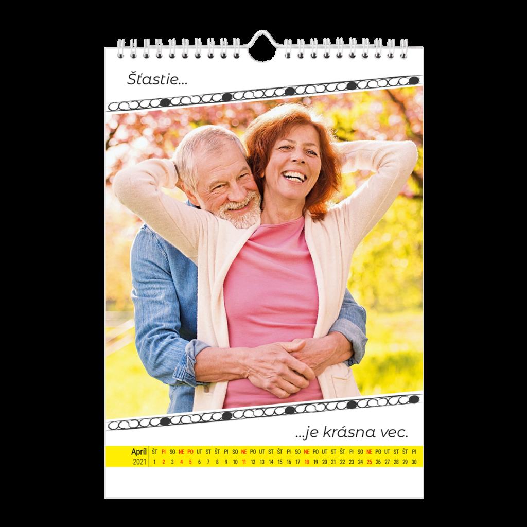 fotokalendár, dôchodcovia