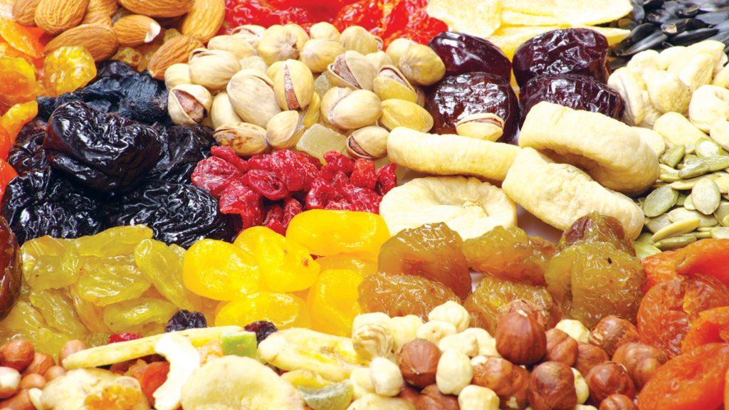 sušené ovocie, zdravá strava