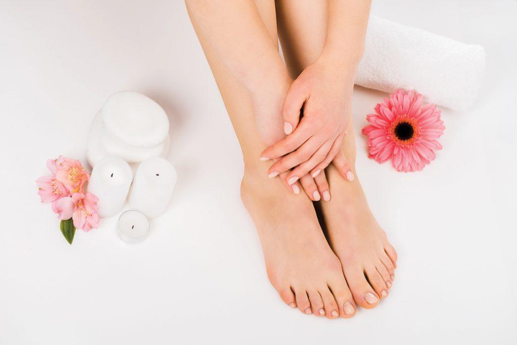 nechty, plesne, starostlivosť o nohy
